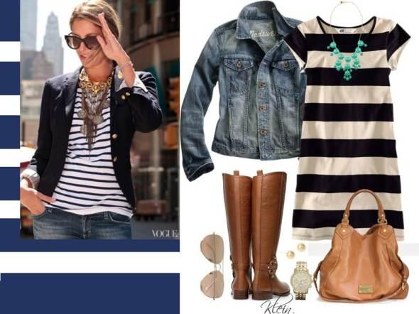 my style  bcn estilo navy klein