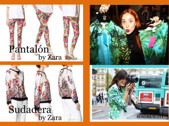 my style bcn print tropical low cost