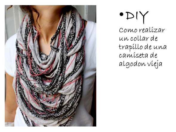 My Style Bcn collar trapillo DIY