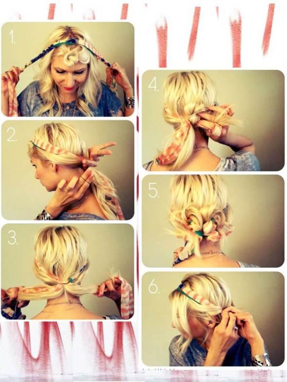 my style bcn DIY banana cintas y turbante pelo