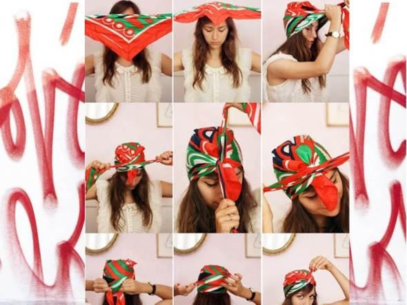 my style bcn DIY zingara cintas y turbante pelo