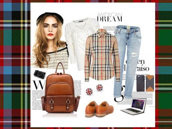 MY STYLE BCN College Style 9 burberry