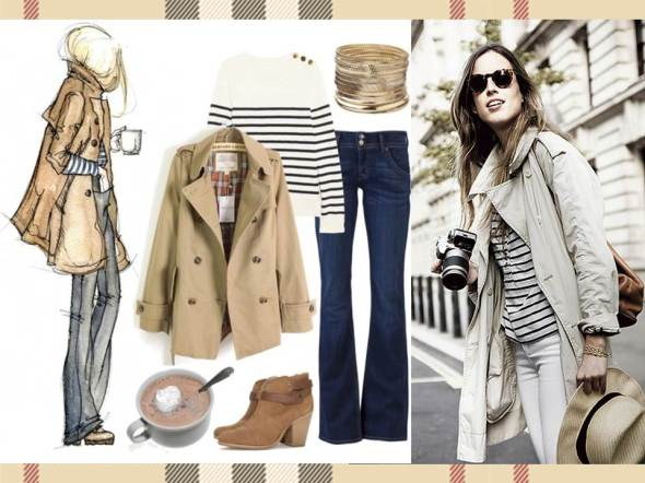 MY STYLE BCN trench aufit casual