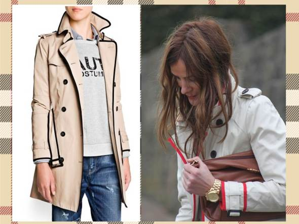 MY STYLE BCN trench ribete