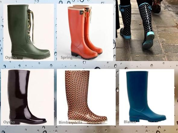 my style bcn cantando bajo la lluvia botas