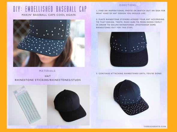 My style bcn  embellished baseball cap