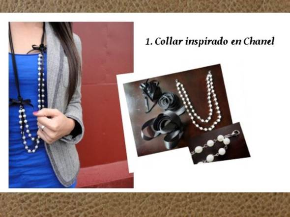 My style bcn DYI accesorios collar perlas