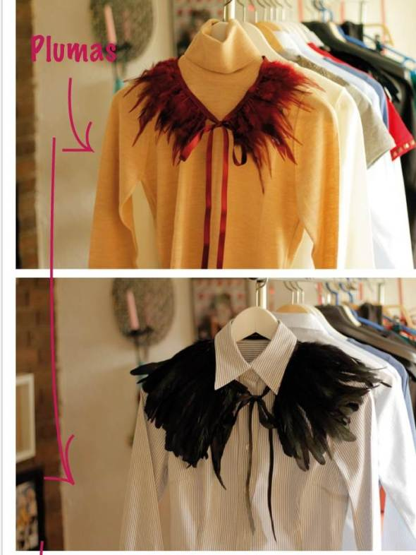 My Style Bcn DYI accesorios cuello plumas