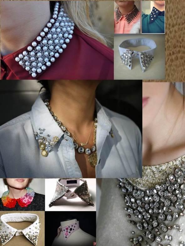 My style bcn DYI accesorios cuellos con pedreria