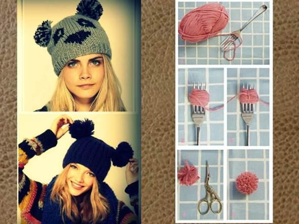 My style bcn DYI accesorios gorro pompon