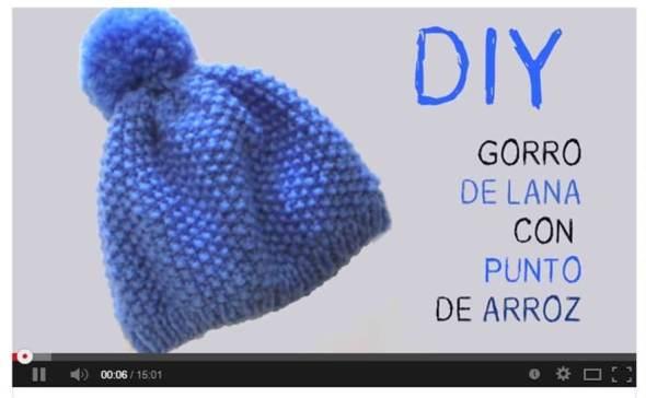 My style bcn gorro lana diy